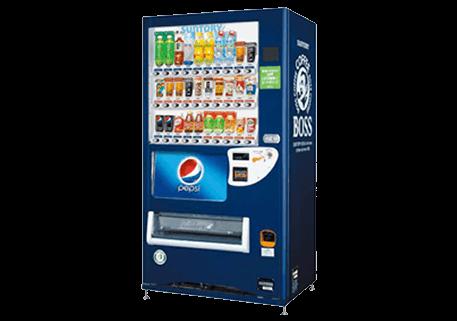 飲料用自販機レンタルサービス
